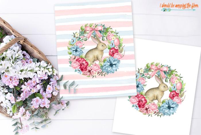 Botanical Bunny Printables