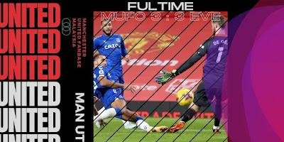 Match Analysis Manchester United Lawan Everton Pekan ke-23