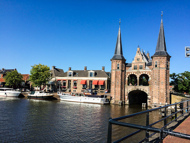 Das Wassertor in Sneek (Niederlande)