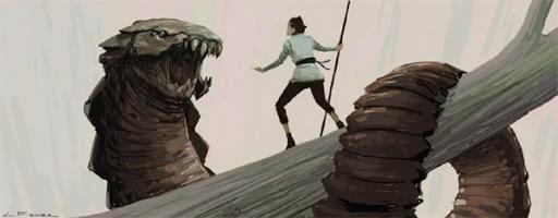 Rey verses The Serpent by Luke Fisher