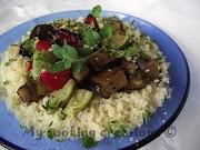 Cous Cous con verdure grigliate * Кус кус с печени зеленчуци
