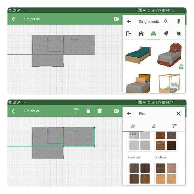 cara membuat desain rumah minimalis