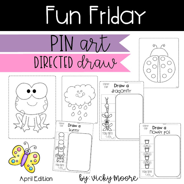 Pin art and directed draws April