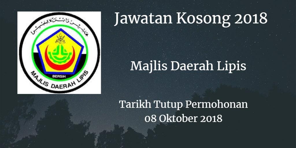 Jawatan Kosong MDL 08 Oktober 2018