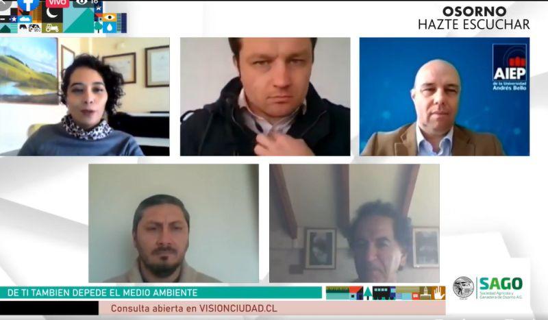 """""""Osorno, hazte escuchar"""": múltiples desafíos medioambientales"""