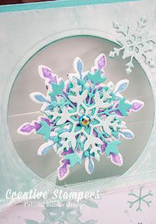 Creative Stampers Tutorial Group Blog Hop Snowflake Splendor Alternative Projects for the December Tutorial Bundle
