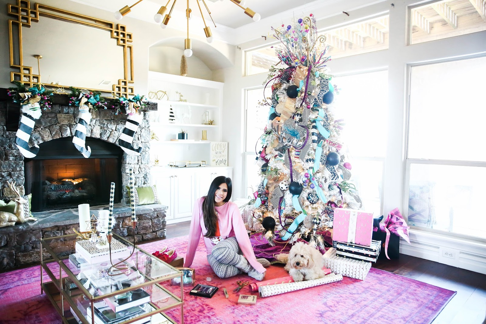 Our Whimsical Christmas Formal Living Area | The Sweetest Thing