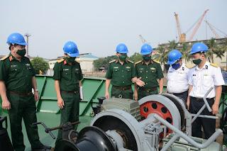Nghiệm thu kỹ thuật tàu Hải đội Dân quân thường trực