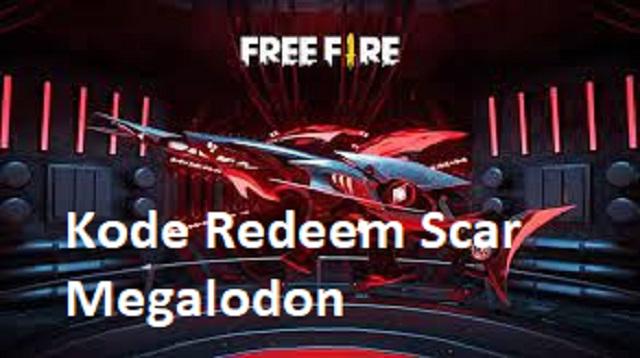 Kode Redeem Scar Megalodon