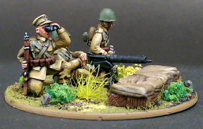 28mm Polish Medium Machine Gun Miniature