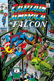 Captain America and Falcon 138