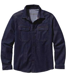 konveksi kemeja kerja bahan jeans bandung