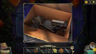 поднимаем сачок из коробки в игре тьма и пламя 3 темная сторона
