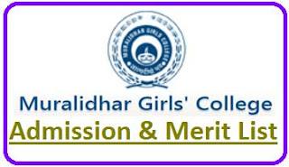 Muralidhar Girls College Merit List