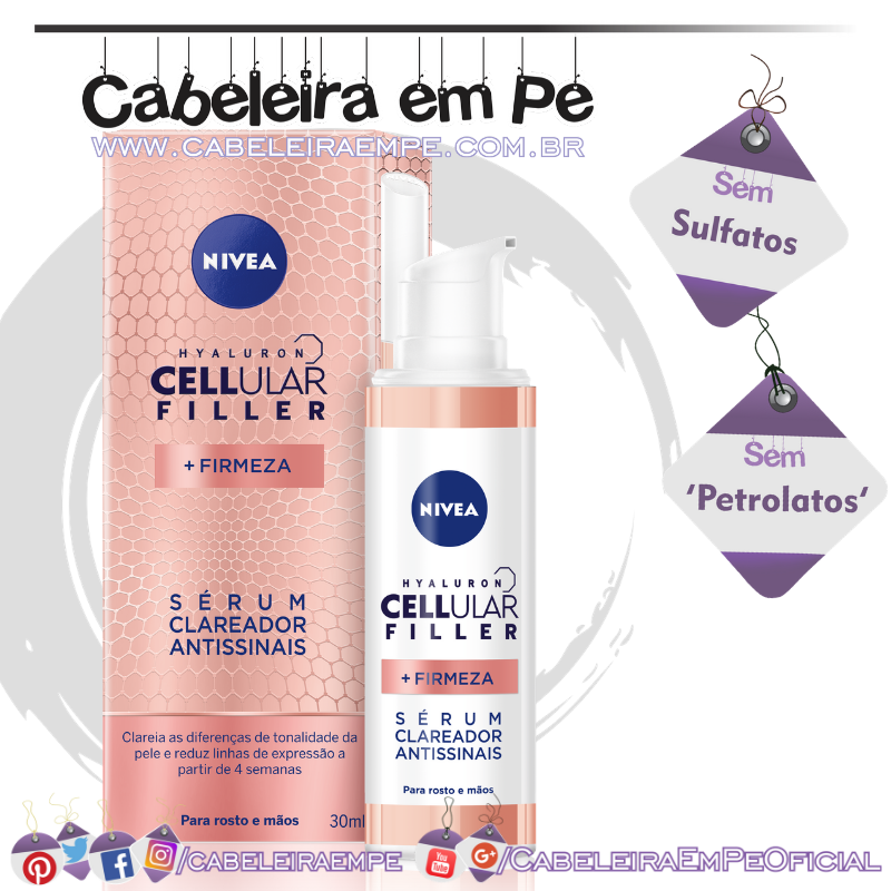 Sérum Clareador Antissinais Cellular Filler - Nivea