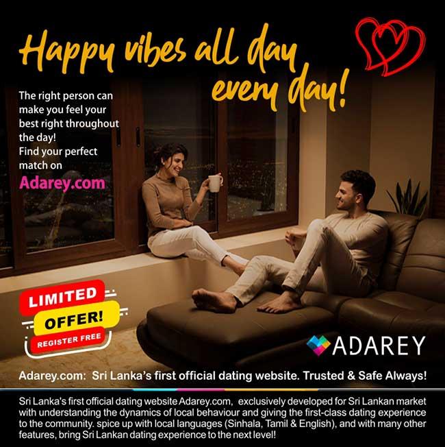 Adarey.com: Sri Lanka's first official dating website.