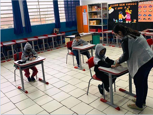 Escolas municipais retornam com aulas presenciais em Registro-SP