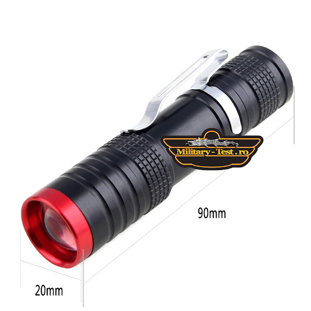 Lanterna tactica LED Q5