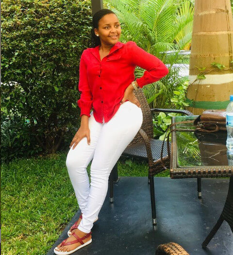 Nandy young sister Diana Charles Mfinanga photo