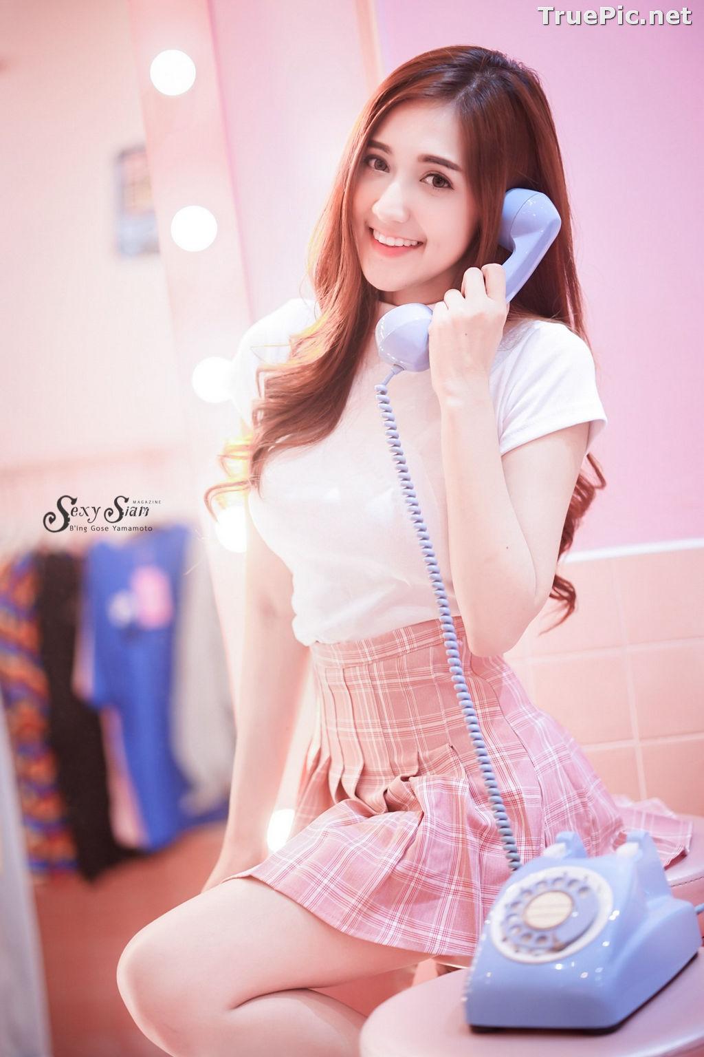 Image Thailand Model - Jarunya Boonya - Pink Love Love Love - TruePic.net - Picture-6