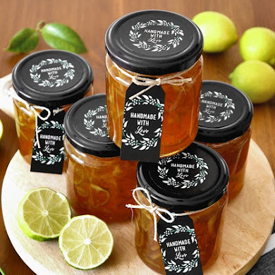 Homemade Lime Marmalade Recipe & Printable Gift Tags