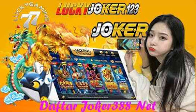 Daftar Joker388 Net Uang Asli Dan Deposit Termurah Via Ovo
