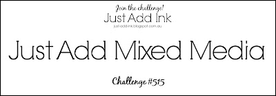 Jo's Stamping Spot - Just Add Ink Challenge #515
