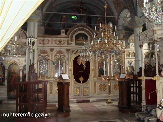Büyükadada ki manastırın içinin resimleri