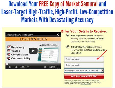 Cara download tool Market Samurai