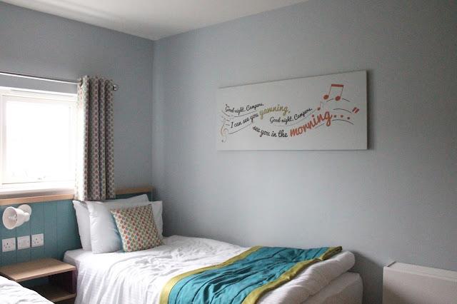 Twin bedroom west lakes chalet village minehead butlins