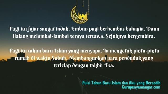 Puisi: Tahun Baru Islam dan Aku yang Bersedih