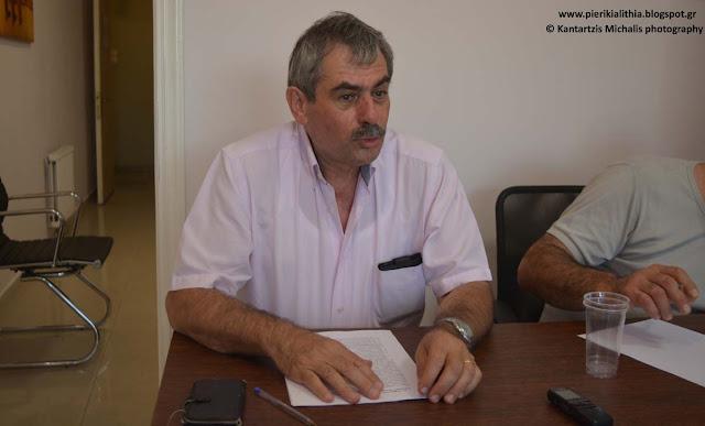Η συνέντευξη τύπου του π. βουλευτή και υπεύθυνου Αγροτικού της Λαϊκής Ενότητας κ. Θανάση Πετράκου.