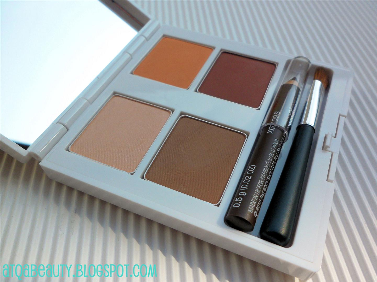 Makijaż :: The Body Shop Boho Beauty Eyeshadow Palette