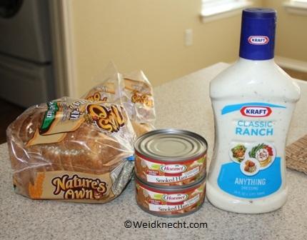 3 Ingredient Ham Salad Sandwiches Recipe Planet Weidknecht