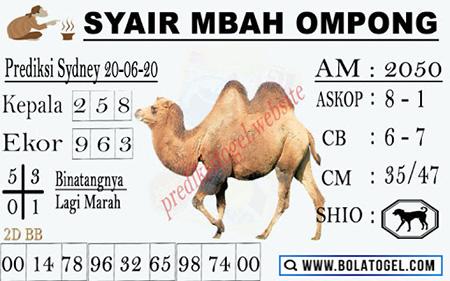 Syair Mbah Ompong Sydney