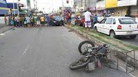 Homem morre após colisão entre moto e carro, na Paraíba