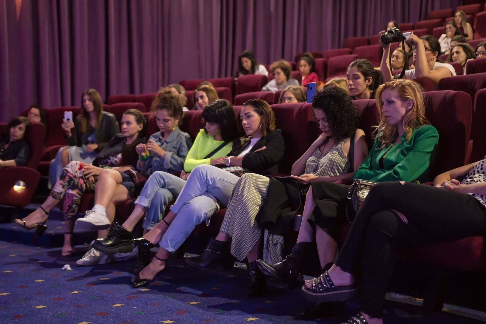 Actrices, influencers, periodistas y productoras, unidas por el movimiento #MeToo