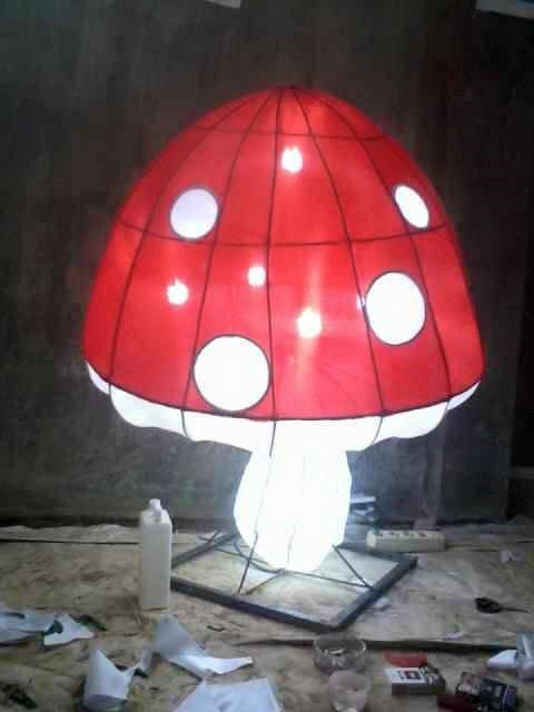 Lampion Jamur
