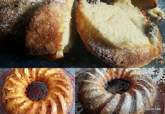 Gâteau des Carmélites de Séville - Chance, santé et une merveilleuse Année 2018 à tous !