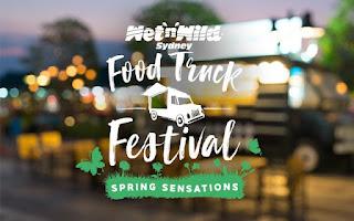 Poster for Food Truck Festival - Wet 'n' Wild Sydney