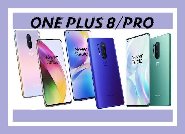 OnePlus 8 و OnePlus 8 Pro