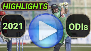 2021 odi cricket matches highlights online