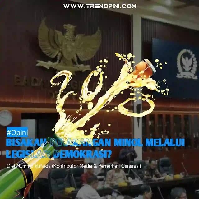 Indonesia dengan mayoritas Muslim terbesar di dunia, nyatanya tak mampu memastikan seluruh rakyatnya terhindar dari efek minuman beralkohol. Baru-baru, mencuat kembali RUU Larangan Minol oleh Badan Legislatif DPR RI. Namun nyatanya, banyak pihak yang menolak RUU ini. Alasannya, Indonesia bukanlah Negara Islam yang tak bisa melarang minol di masyakat, bahkan dinilai Indonesia akan menjadi mundur beberapa langkah kebelakang jika RUU ini disahkan.