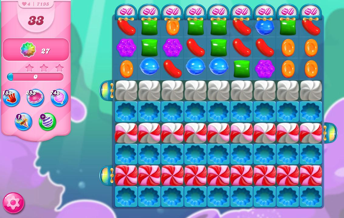 Candy Crush Saga level 7195