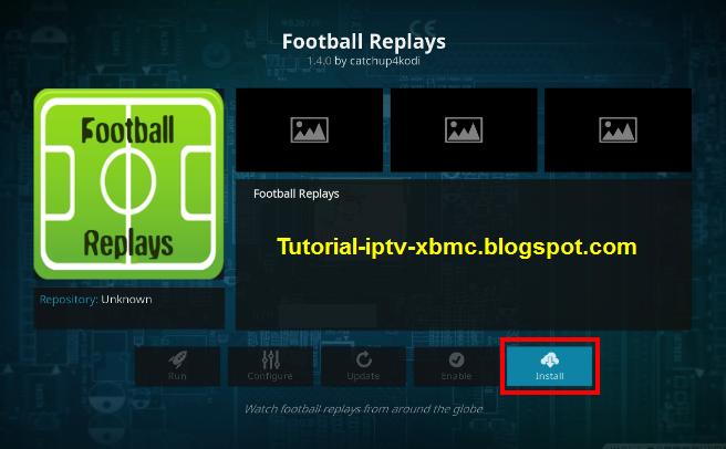 Football Replays Addon Kodi 18 Repo url - New Kodi Addons Builds 2019