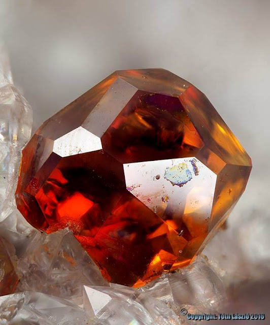 Wonderful Spessartine Crystal From New Mexico