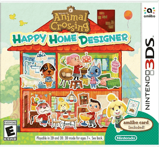3ds animal crossing happy home designer CIA