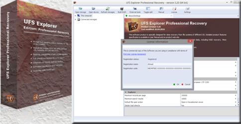 Free License Key: UFS Explorer Professional …