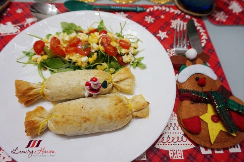 fillo factory whole wheat filo rolls christmas recipe