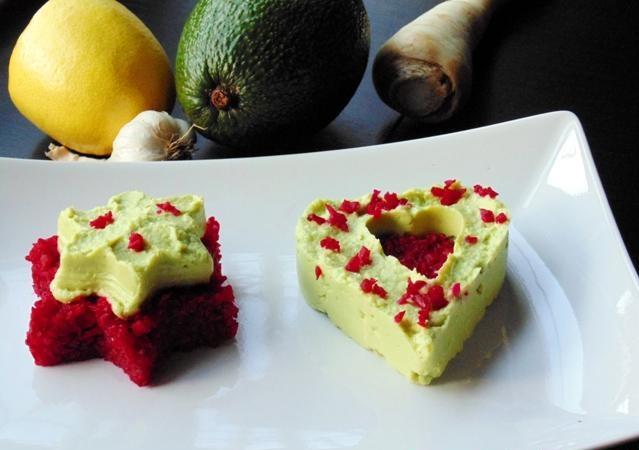 crema avocado tofu